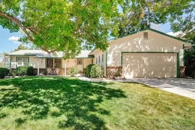 Littleton Single Family Home Under Contract: 4846 South Nelson Street