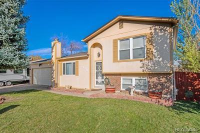 Littleton Single Family Home Active: 7438 South Teller Street