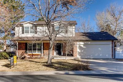 Littleton Single Family Home Active: 809 Mercury Circle