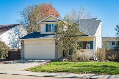 Longmont Single Family Home Under Contract: 2110 Astoria Lane