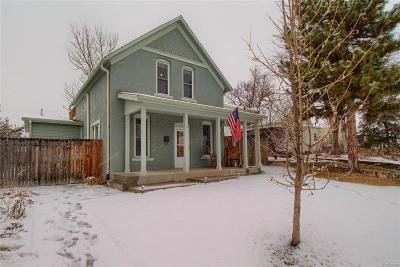 Wheat Ridge Single Family Home Under Contract: 2819 Eaton Street