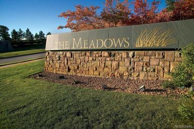 Castle Rock Condo/Townhouse Active: 3710 Meadows Drive