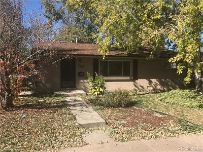 Denver Single Family Home Active: 745 Utica Street