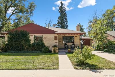 Longmont Single Family Home Under Contract: 1235 15th Avenue