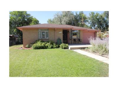 Lakewood CO Single Family Home Active: $320,000