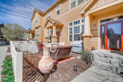 Castle Rock Condo/Townhouse Active: 3877 Pecos Trail