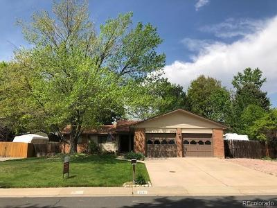 Broomfield Single Family Home Under Contract: 1241 Cedar Street