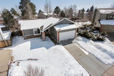 Centennial Single Family Home Under Contract: 5426 South Walden Court
