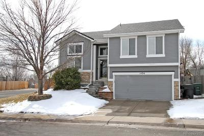 Thornton Single Family Home Under Contract: 1494 East 96th Drive