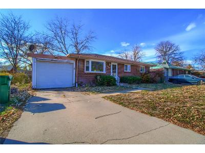 Commerce City Single Family Home Under Contract: 6657 Niagara Street