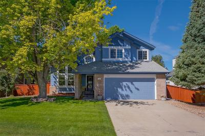 Highlands Ranch Single Family Home Under Contract: 1646 Hermosa Drive