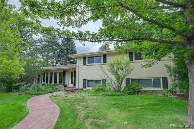 Single Family Home Active: 5572 East Mansfield Avenue