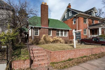 Denver Single Family Home Under Contract: 651 North Humboldt Street