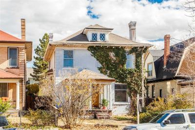 Denver Single Family Home Active: 1050 Clarkson Street