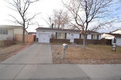 Aurora Single Family Home Under Contract: 3163 Helena Street