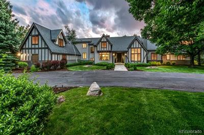 Cherry Hills Village CO Single Family Home Active: $4,400,000