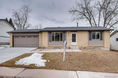 Littleton Single Family Home Under Contract: 6523 South Field Way