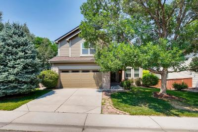 Highlands Ranch Single Family Home Active: 9631 Red Oakes Place