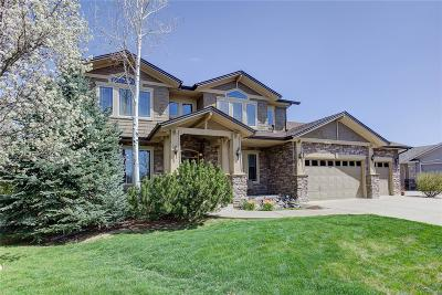 Broomfield Single Family Home Active: 13740 Troon Court