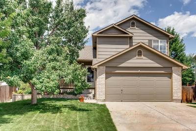 Littleton Single Family Home Active: 5153 South Parfet Way