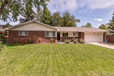 Lakewood Single Family Home Active: 1530 South Harlan Street