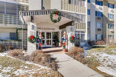 Denver Condo/Townhouse Active: 595 South Alton Way #12A