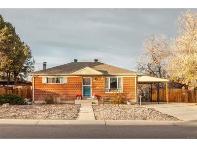 Northglenn Single Family Home Under Contract: 1861 East 112th Place