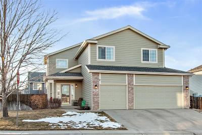 Castle Rock Single Family Home Under Contract: 885 Pitkin Way