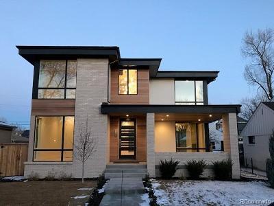Denver Single Family Home Active: 1414 South Josephine Street
