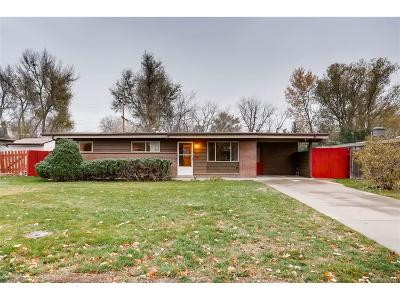 Arvada Single Family Home Under Contract: 5940 Dudley Court
