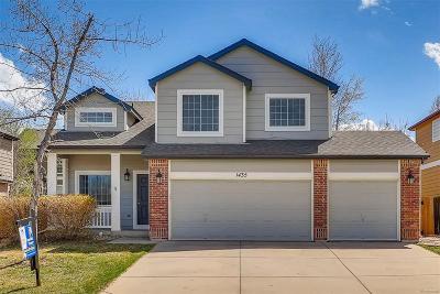 Longmont Single Family Home Under Contract: 1435 Chukar Drive