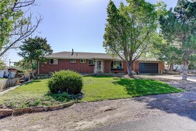 Broomfield Single Family Home Active: 13700 Stuart Street