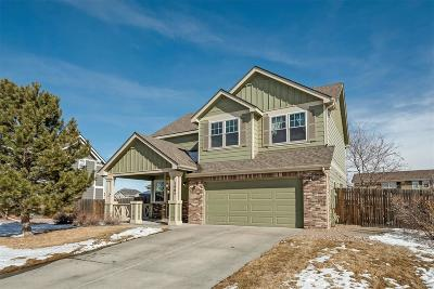 Castle Rock Single Family Home Under Contract: 1464 North Stratton Avenue