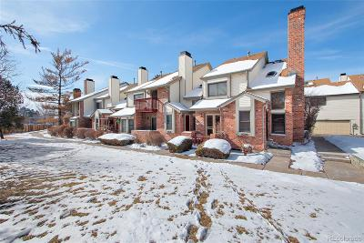 Aurora Condo/Townhouse Under Contract: 4210 South Granby Way #A