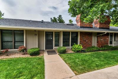 Denver Condo/Townhouse Under Contract: 6495 East Happy Canyon Road #20