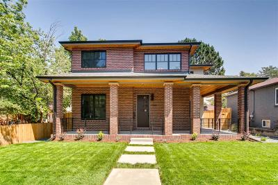 Denver Single Family Home Active: 2644 Grape Street