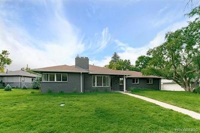 Denver Single Family Home Active: 281 Magnolia Street