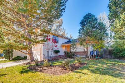 Centennial CO Single Family Home Under Contract: $465,000