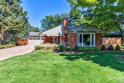 Denver, Lakewood, Centennial, Wheat Ridge Single Family Home Active: 180 Ivanhoe Street