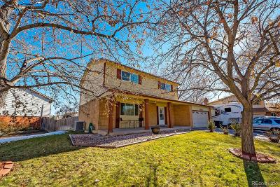 Littleton Single Family Home Under Contract: 9138 West Maplewood Drive