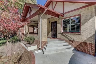 Denver Single Family Home Active: 1420 Dahlia Street