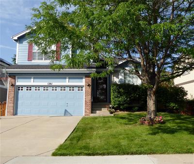 Highlands Ranch Single Family Home Active: 1261 Riddlewood Road