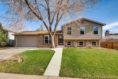 Littleton Single Family Home Under Contract: 8906 West Clifton Avenue