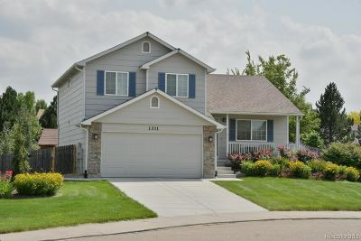 Longmont Single Family Home Active: 1311 Cedarwood Drive