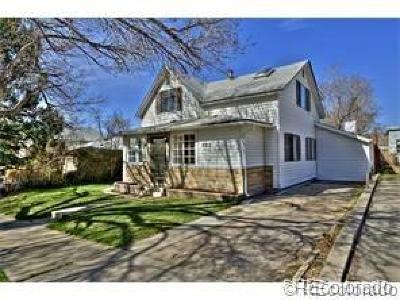 Denver Single Family Home Active: 4813 Stuart Street