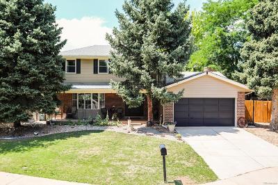 Centennial Single Family Home Under Contract: 4639 East Fair Place