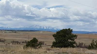Elbert CO Residential Lots & Land Under Contract: $125,000