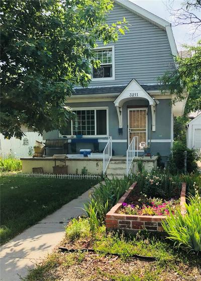 Wheat Ridge Single Family Home Under Contract: 3211 Ames Street