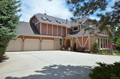 Colorado Springs Single Family Home Active: 14595 Sun Hills Drive