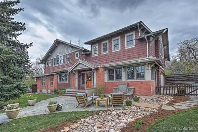 Boulder CO Single Family Home Active: $1,880,000